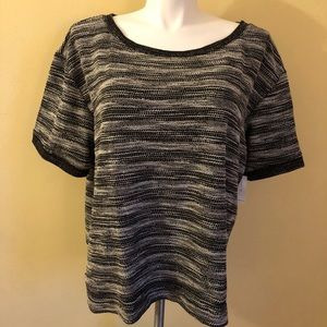 Old Navy Striped Knit Top NWT